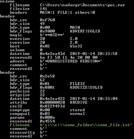 从WinRAR中提取19年前的代码执行